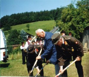 1999 Spatenstich Feuerwehrhaus