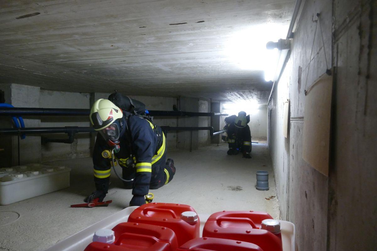 FF Weinburg Atemschutzübung